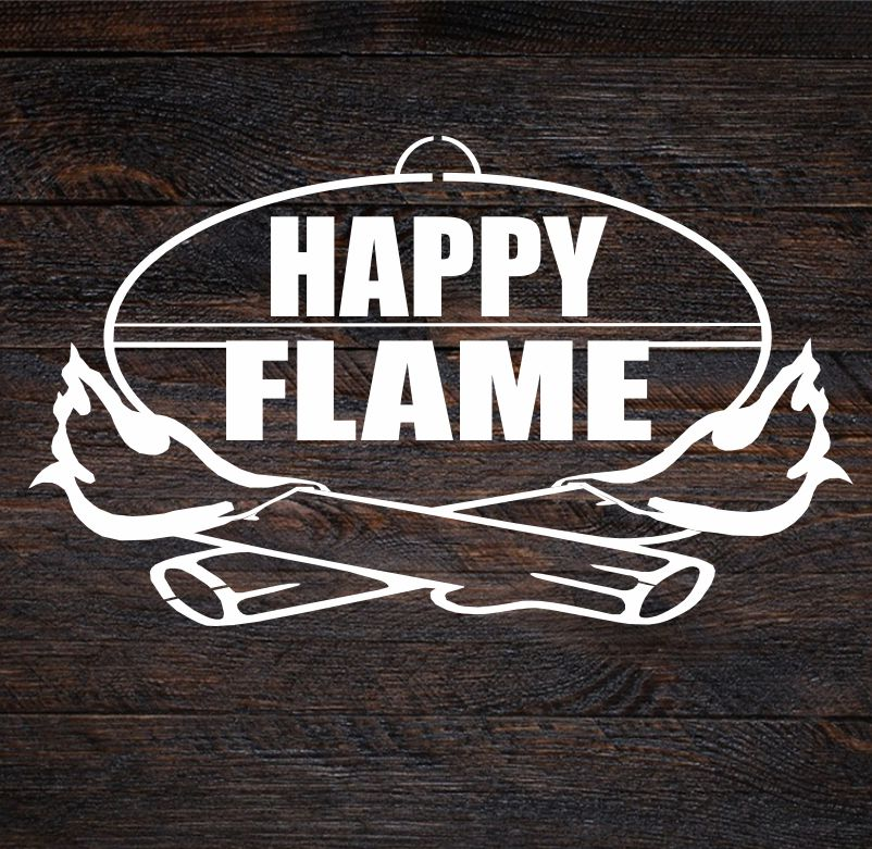 HAPPY FLAME ufo disk na pecenie
